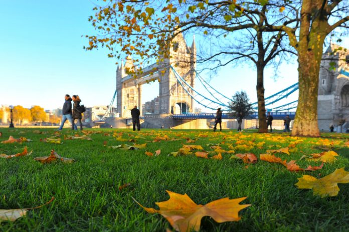 London In Autumn